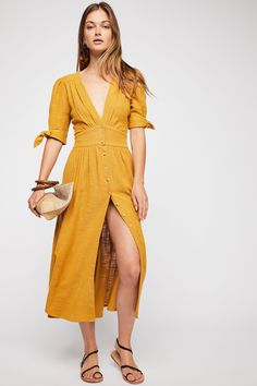 Love Of My Life Midi Dress | Free People