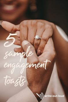 Speeches to use as a starting point to writing your own engagement toast. Pull them apart. Change bits. Chop pieces out, to make one of your own.