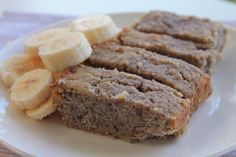 Oooooooh I'm dying for this now!  Gluten Free Coconut, Banana & Chia Seed Loaf