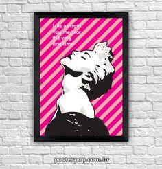 "Poster Madonna ""Like a Virgin"""