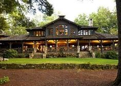 N.C. Lake House Combines Southern Charm, Adirondack Style | Curbed National