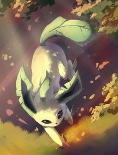 Leafeon by EvilQueenie.deviantart.com on @deviantART