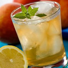 Refreshing, delicious and zero calories, this lemonade iced tea is perfect for a summer afternoon.