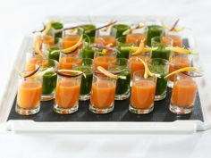 #Recipe for #vegan Carrot-Orange Gazpacho, from the #WPCatering #Oscars Governors Ball menu this year.