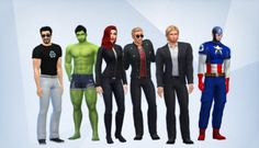 Sims 4 Avengers *habenwill*