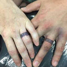 celtic wedding ring tattoos