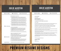 Floral Resume Template Instant Download  Cover Letter  Format Ms