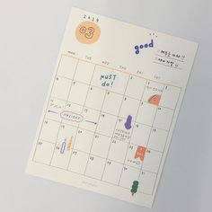 day after day sticker : pppstudio Bullet Journal Notebook, Bullet Journal Spread, Bullet Journal Inspiration, Notes Taking, Bullet Journal Aesthetic, Calendar Design, Journal Layout, Study Notes, Planner
