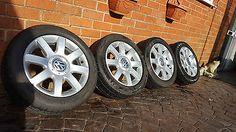 "#Genuine #alloy wheels vw #imola 16"" golf mk5 skoda seat touran caddy 1k0601025r,  View more on the LINK: http://www.zeppy.io/product/gb/2/322010632844/"