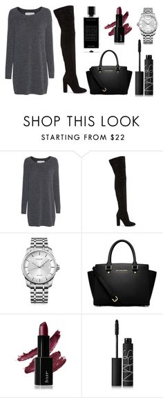 """Untitled #73"" by rodoulla97 on Polyvore featuring Fine Collection, Gianvito Rossi, Calvin Klein, MICHAEL Michael Kors, NARS Cosmetics and Agonist"