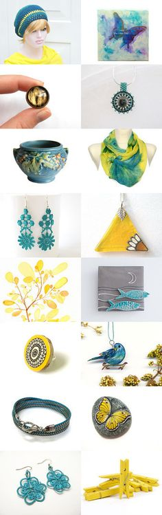 Gift ideas for christmas: Two by Nancy Ottati from RevesCreazioni on Etsy--Pinned with TreasuryPin.com
