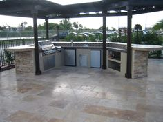 Brinkmann Built In Barbecue Grills For The Custom Outdoor Kitchen.