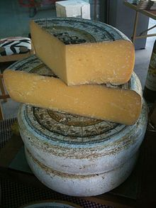 Mossfield Mature is an organically certified Gouda style cheese made in Birr Co. Offaly in Ireland.