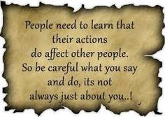 Actions have consequences...stop blaming others for the consequences to YOUR own choices.