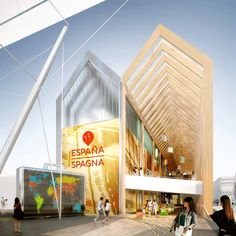 Spanish Pavilion at Expo Milan 2015