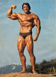 Mr Bodybuilding himself... Arnie, what a legend!