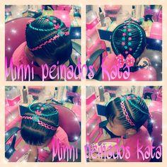 Peinados Bellos, Cintas, Trenzas, Princesa, Beautiful Hairstyles, Tapes, Braids