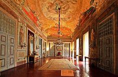 Sala do trono do Convento de Mafra