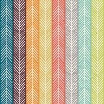 Birch Fabrics - Serengeti Poplin - Quill Stripe Multi