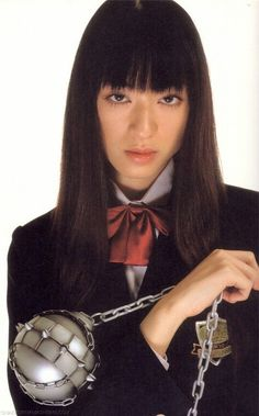 Make your own Gogo Yubari costume from Kill Bill. This school girl costume is a great halloween costume and a great fancy dress costume Quentin Tarantino, Xmen, Gi Joe, Pulp Fiction, Kill Bill Movie, Death Proof, Great Halloween Costumes, Movie Costumes, Non Plus Ultra