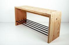 ラーチ合板+鉄の家具。 | SOU STORAGE|創空間