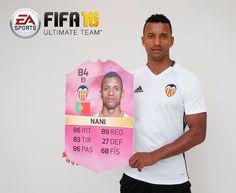 Nani, posa como el 'Mejor Regateador' elegido por los fans de EA Sports - Página web oficial Valencia CF