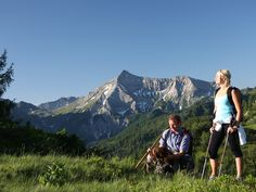 Hiking in the beautiful mountains in the Schladming Dachstein region Hiking, Mountains, Nature, Summer, Travel, Beautiful, Vacation Places, Horseback Riding, Walks