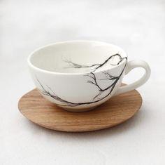 Branch Espresso Cup & saucer