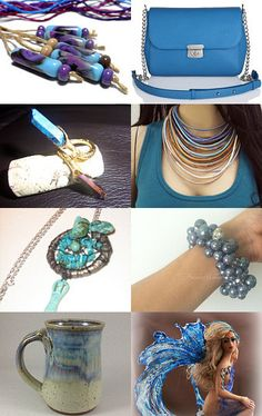 Into the Blue by Gabbie on Etsy--Pinned with TreasuryPin.com