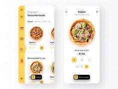 Dashboard Design, App Ui Design, Mobile App Design, Food Design, Interface Design, Mobile Ui, User Interface, Mobile Application Design, Application Design