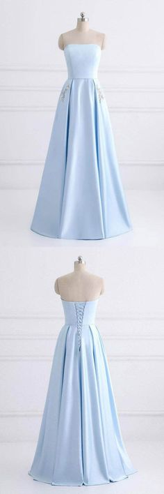 Simple Prom Dresses #SimplePromDresses, A-Line Prom Dresses #A-LinePromDresses, Prom Dresses Long #PromDressesLong, Prom Dresses 2018 #PromDresses2018, Cheap Prom Dresses #CheapPromDresses