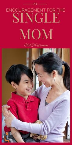 Could you - or someone you know - use some encouragement as a single mom? Here's a strong word of grace and loving advice for anyone who is single parenting! ~ Club31Women