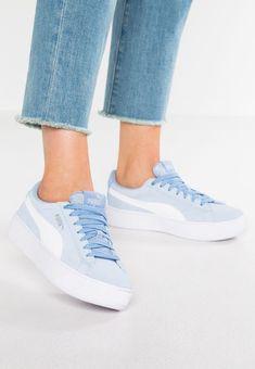 08ec4b7211a2 Puma VIKKY PLATFORM - Baskets basses - light blue - ZALANDO.FR Dress  Outfits