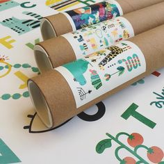 New packaging!! Now every 5070cm posters on my @tictail store will be shipped…