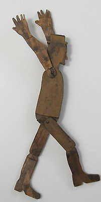 FOLK ART- DANCING WOODEN MAN