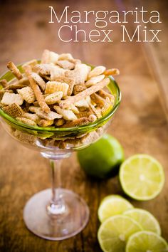 Homemade Margarita Chex Mix – An Easy and Wildly Addictive Last-Minute Party Snack - from Cupcake Project