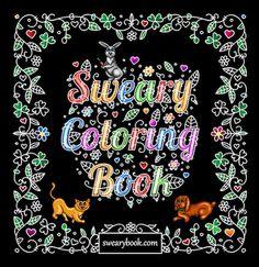 Sweary Coloring Book Swear Words By Swearybook