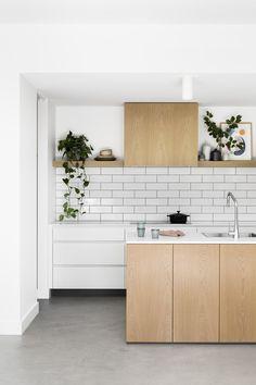 Kitchen Design Bloomfield Road – A Whole-home Approach — Kitchen Renovation & Custom Kitchen Designs Home Kitchens, Custom Kitchens Design, Kitchen Design, Kitchen Inspirations, Kitchen Renovation, Kitchen Flooring, Custom Kitchen, Kitchen Style, Scandinavian Kitchen Design