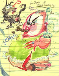Divine by John Kricfalusi, creator of Ren and Stimpy