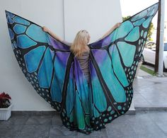 One of a Kind Silk Wings by ISSISsilkandmore on Etsy