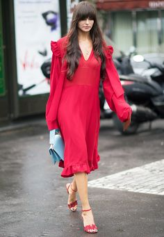 Lessons In Chic: 15 Couture Fashion Week Street Style Looks via @WhoWhatWearUK