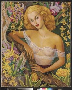 Portrait of Linda Christian by Diego Rivera, oil on canvas, 1947 Diego Rivera Frida Kahlo, Frida And Diego, Clemente Orozco, Social Realism, Mexican Artists, Amazing Paintings, Art Database, Figurative Art, Art Deco Fashion