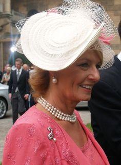 HRH Princess Margarita of Romania Royal Jewelry, Royal Fashion, Fascinator, Panama Hat, Royalty, Royal Families, Descendants, Hats, Queens