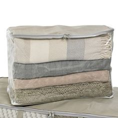 Clearview Protective Clothes & Duvet Zip Storage Bag - 52L