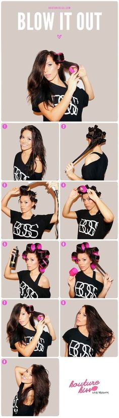 Quick Hairstyle Tutorials For Office Women : I think women have to change their hairstyle from time to time.