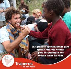 #Traperos Ayudar al que lo necesita no sólo es parte del deber, sino de la felicidad. Contáctenos : (01)258-5262 / 943 520 010 http://traperosdesanpablo.org/que-donar