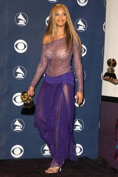 The most outrageous outfits in Grammys history: Beyoncé, 2002