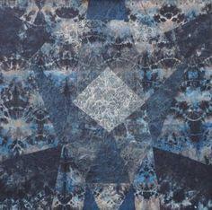 "Saatchi Art Artist Valentin Bakardjiev; Collage, ""Le Grand Bleu"" #art"