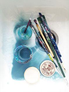 Adara Sanchez, Daughter Of Smoke And Bone, Blues Artists, Make Art, Art Studios, Installation Art, Artsy Fartsy, Painting & Drawing, Watercolor Art