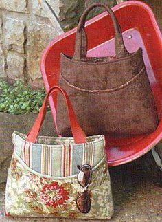 Pocket Perfect Purse Pattern : PursePatterns.com, Sew your own unique purse or bag!